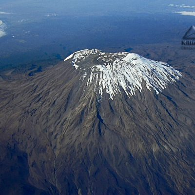 Kili-from -the-plane
