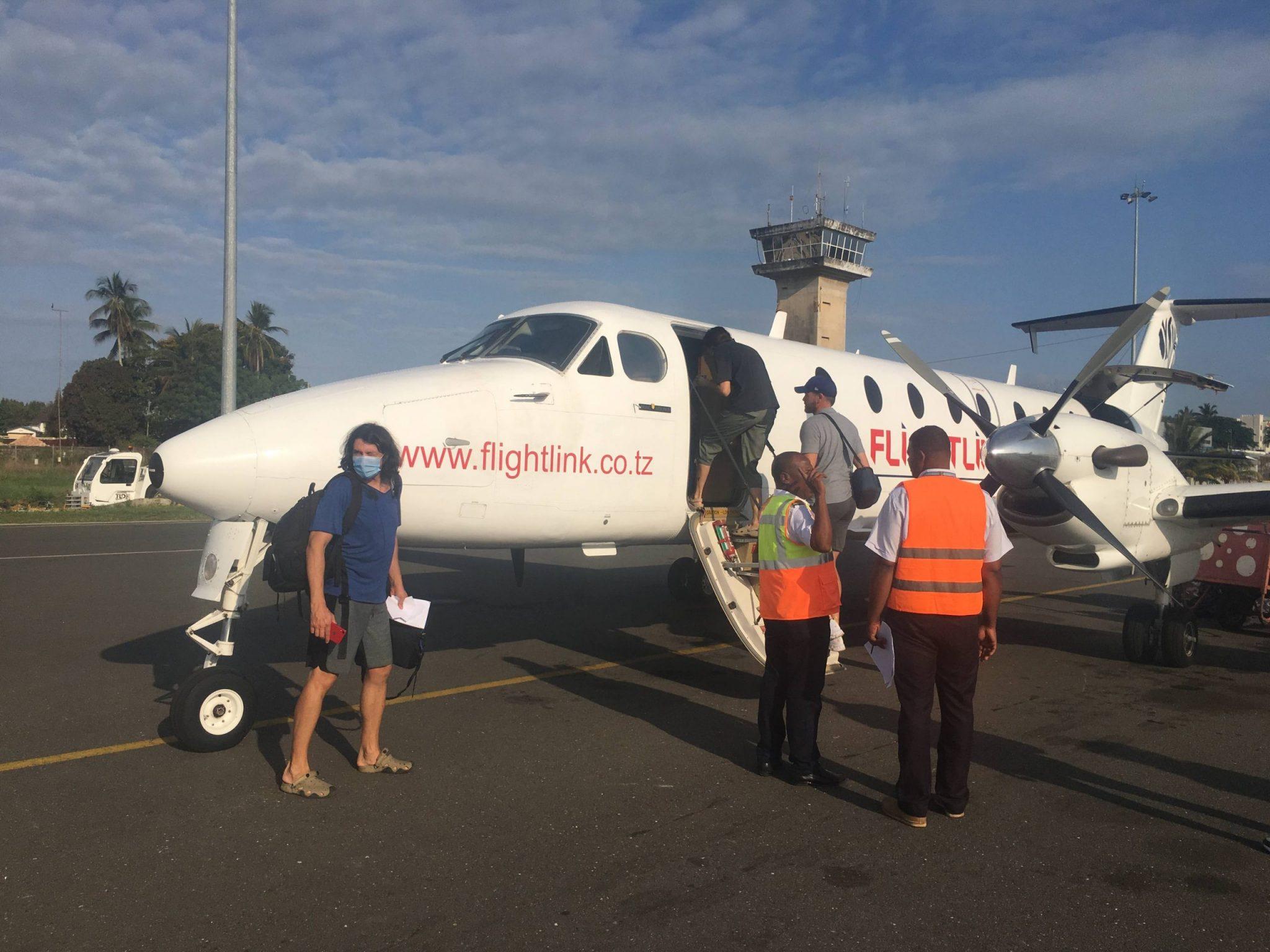 Zanzibar flight